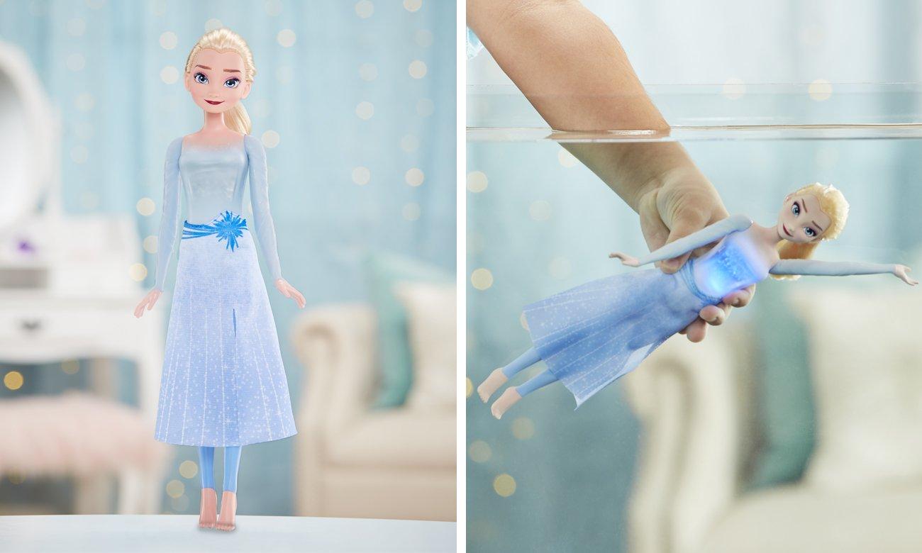 Hasbro Frozen 2 Pływająca i świecąca Elsa
