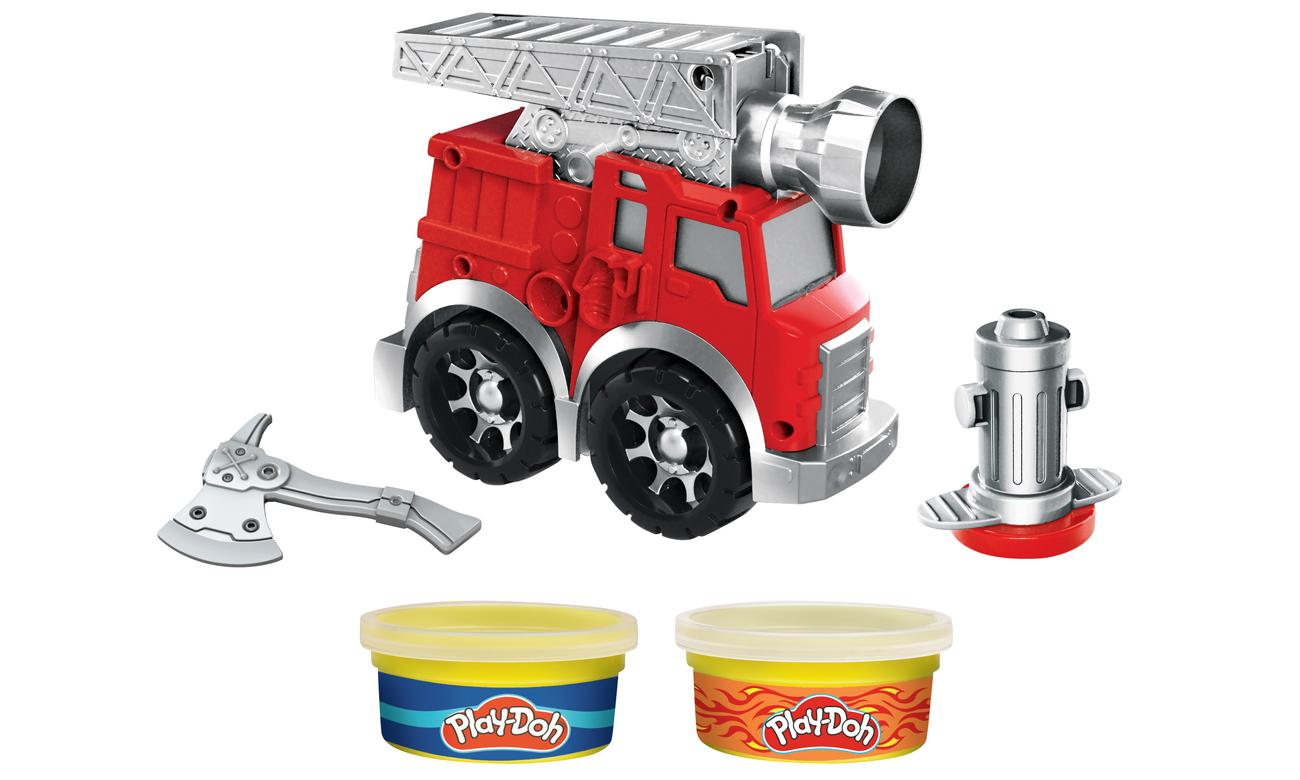 Play Doh Wheels Wóz strażacki