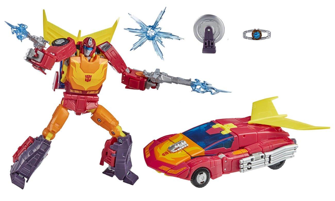 Hasbro Transformers Generation Studio Series DLX 86 Hot Rod