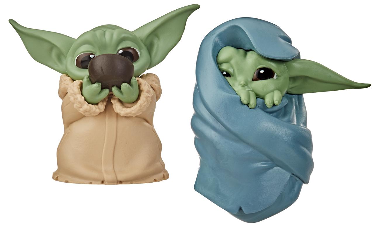 Hasbro SW Mandalorian Baby Yoda 2 pack