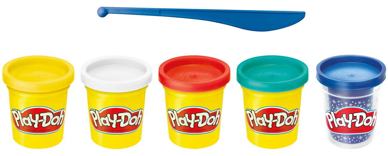Hasbro Play-Doh Celebration pack 65 urodziny 4+1