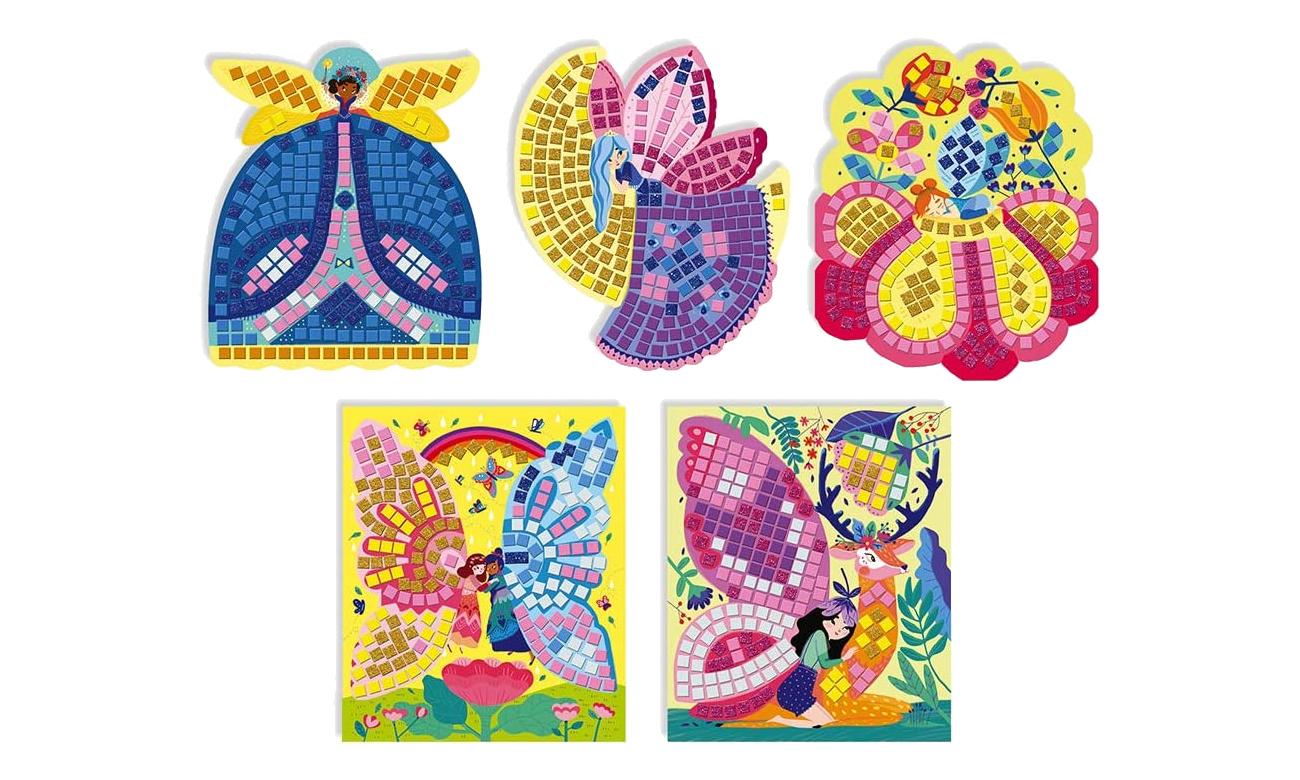 Zestaw kreatywny Mozaika Wróżki 5+ Janod J07901