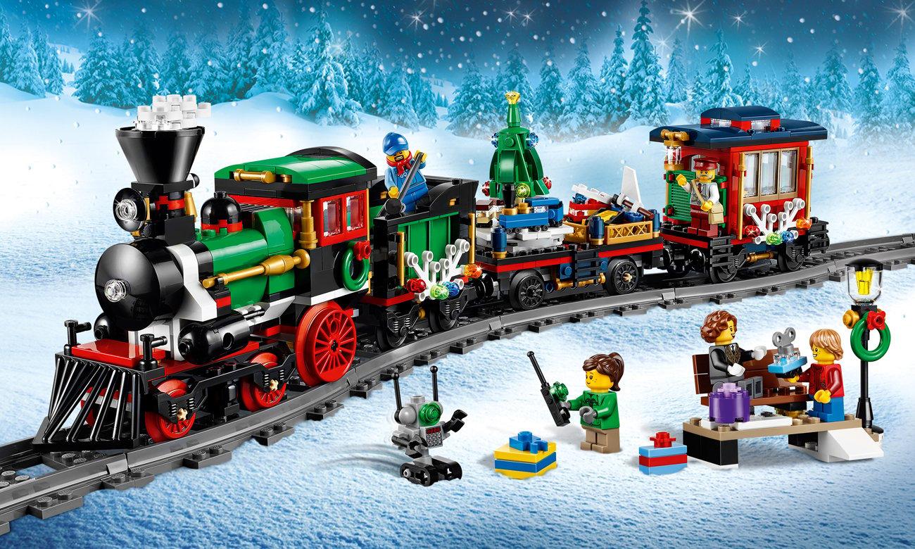 LEGO Creator Expert Świąteczny pociąg