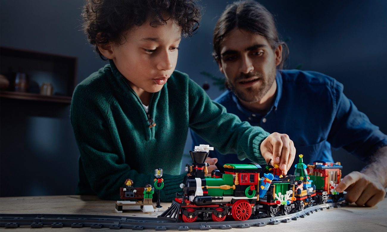 pociąg lego