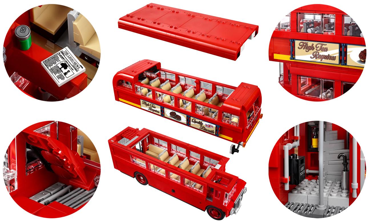 lego londyński autobus