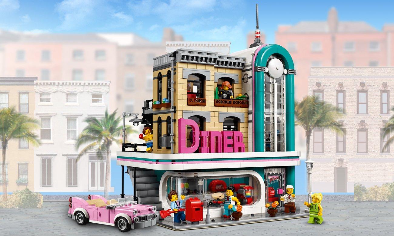 LEGO Creator Expert Bistro w śródmieściu