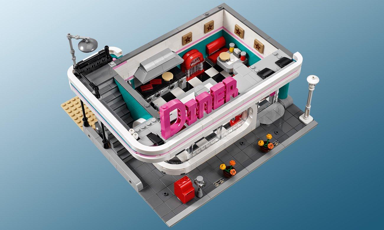 bar z klocków lego
