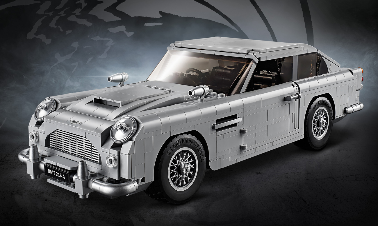 LEGO Creator Expert Aston Martin DB5 Jamesa Bonda