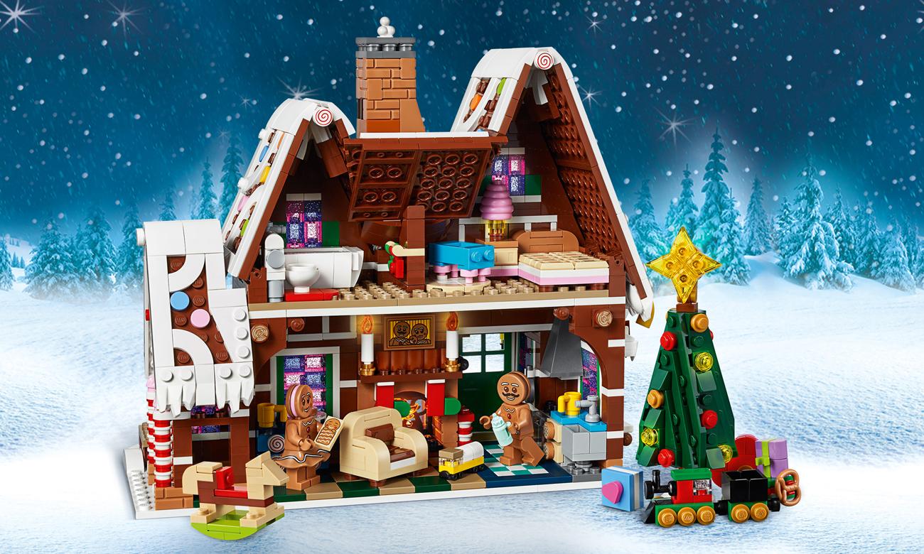chatka z piernika z lego