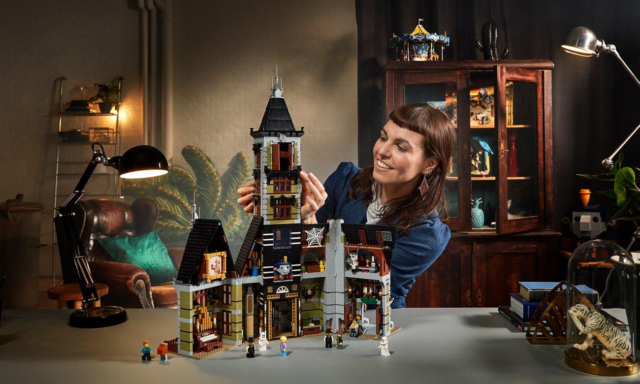 dom strchów z lego