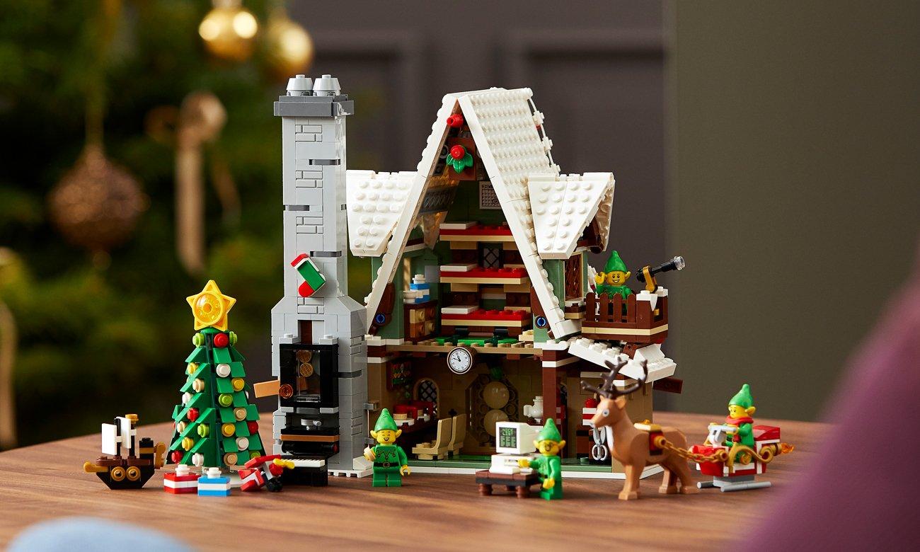 domek świąteczny z lego