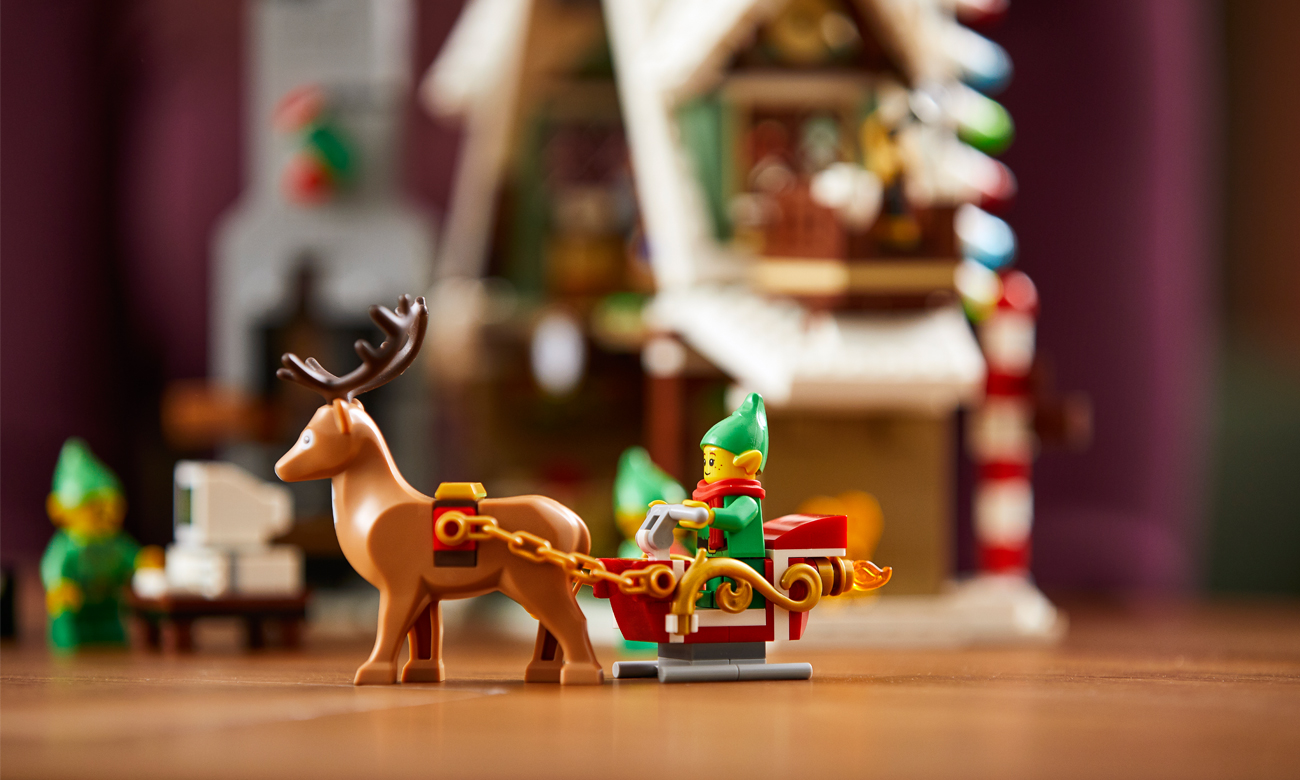 lego zestaw świąteczny