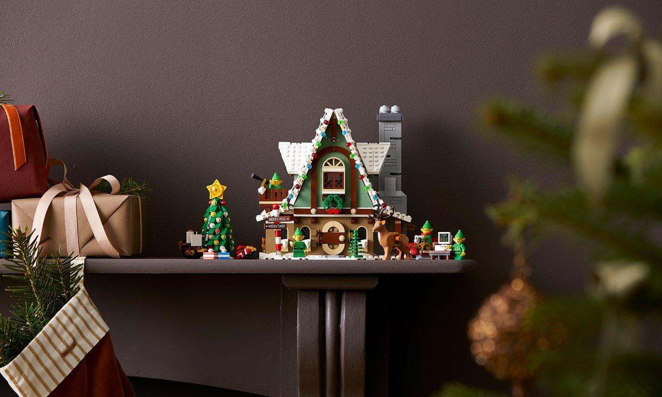 model domku elfów lego