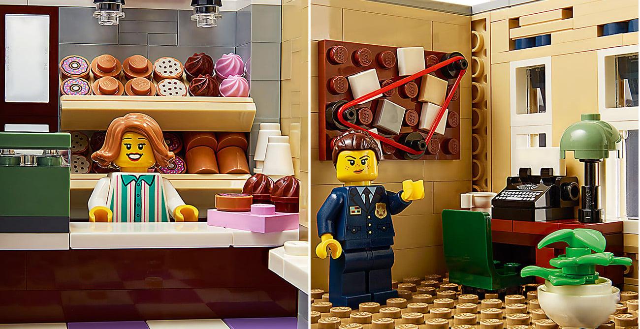 posterunek policji z klocków lego