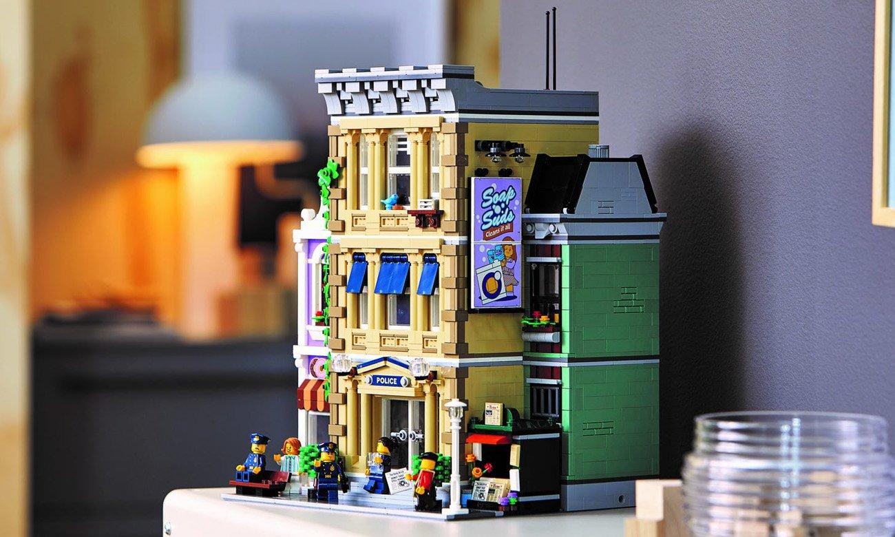 duży zestaw lego creator posterunek policji