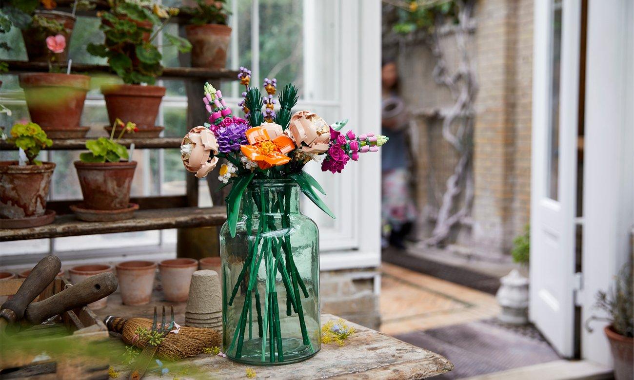 kwiaty z lego