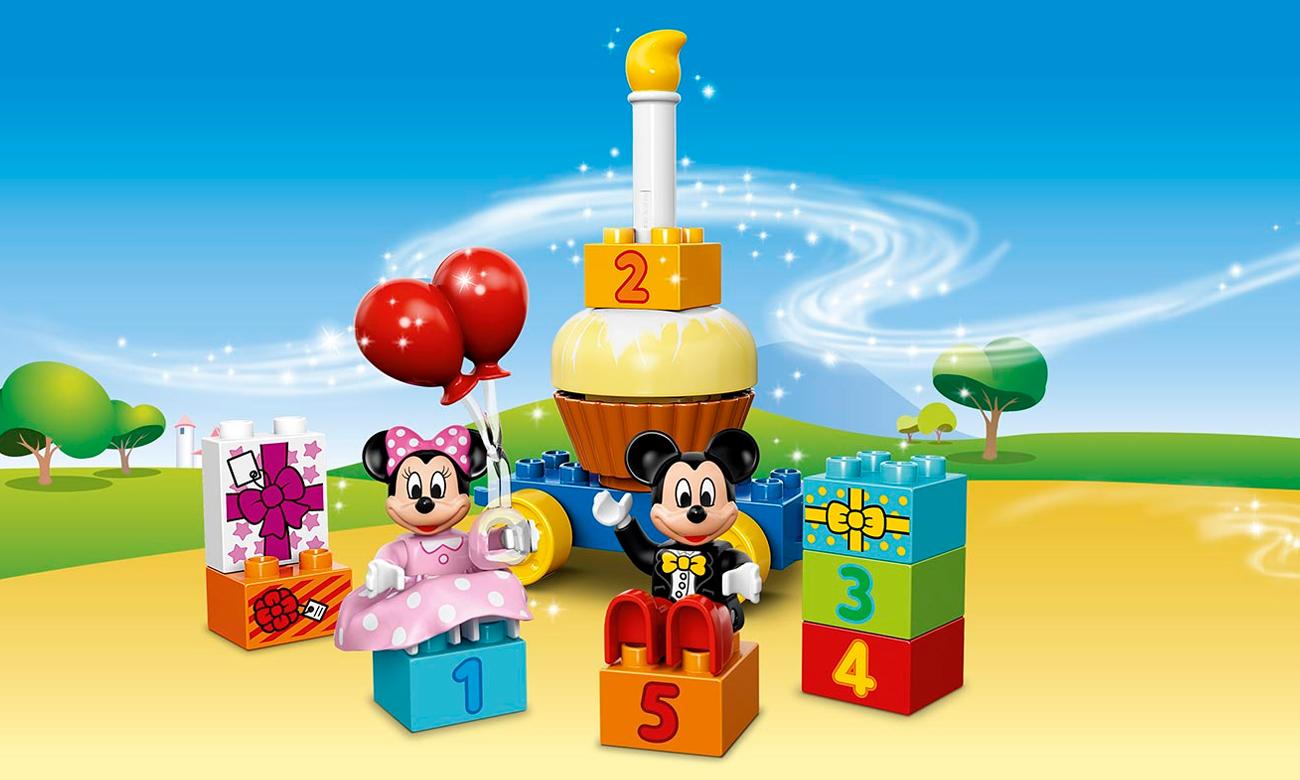 LEGO® DUPLO® Parada urodzinowa Myszki Miki i Minnie  10597