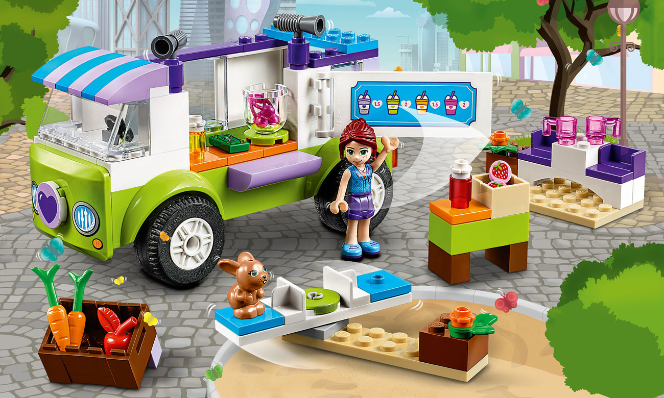 LEGO® Juniors Targ ekologiczny Mii 10749