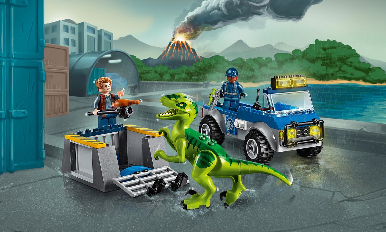 LEGO Juniors Na ratunek raptorom