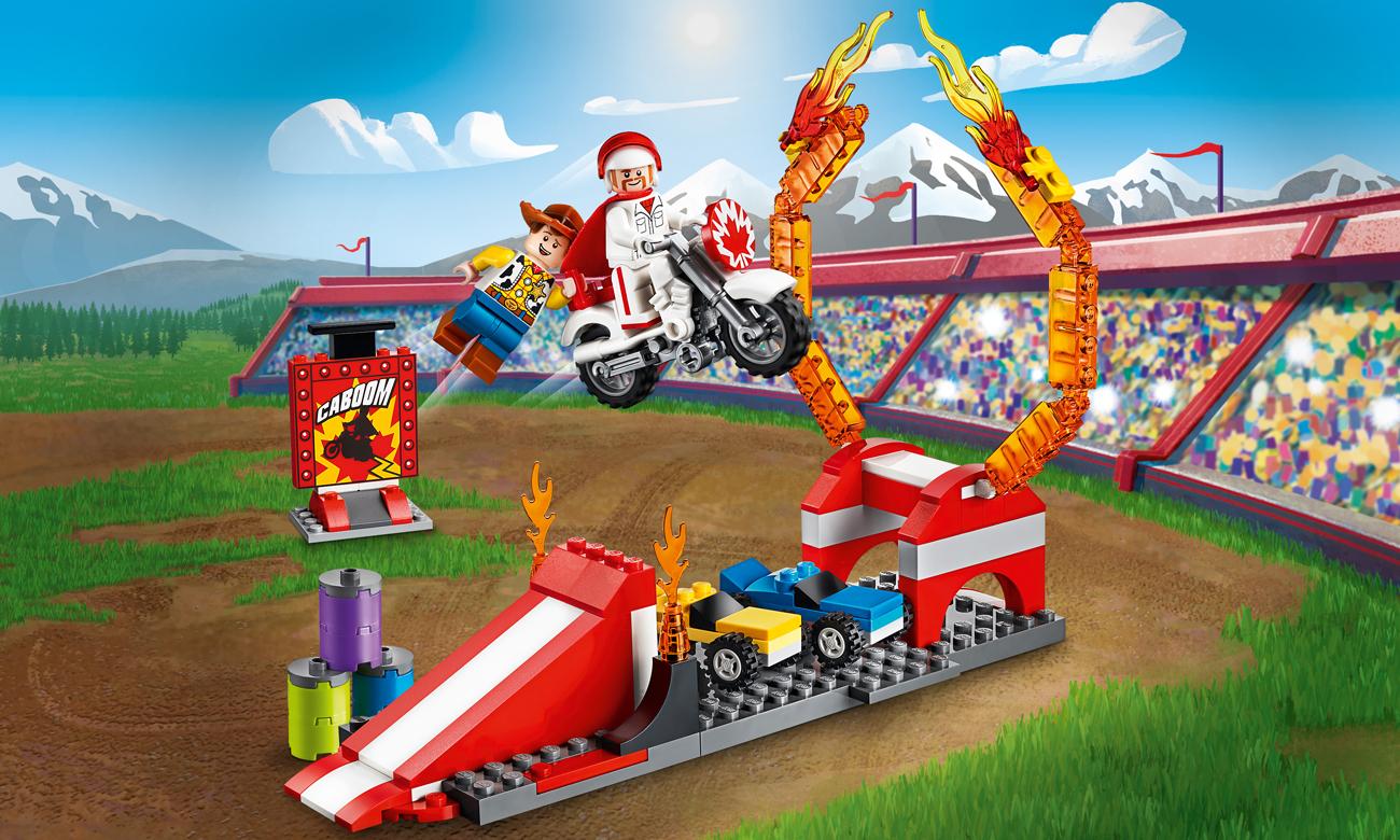 LEGO Toy Story 4 Pokaz kaskaderski Diuka Kabum