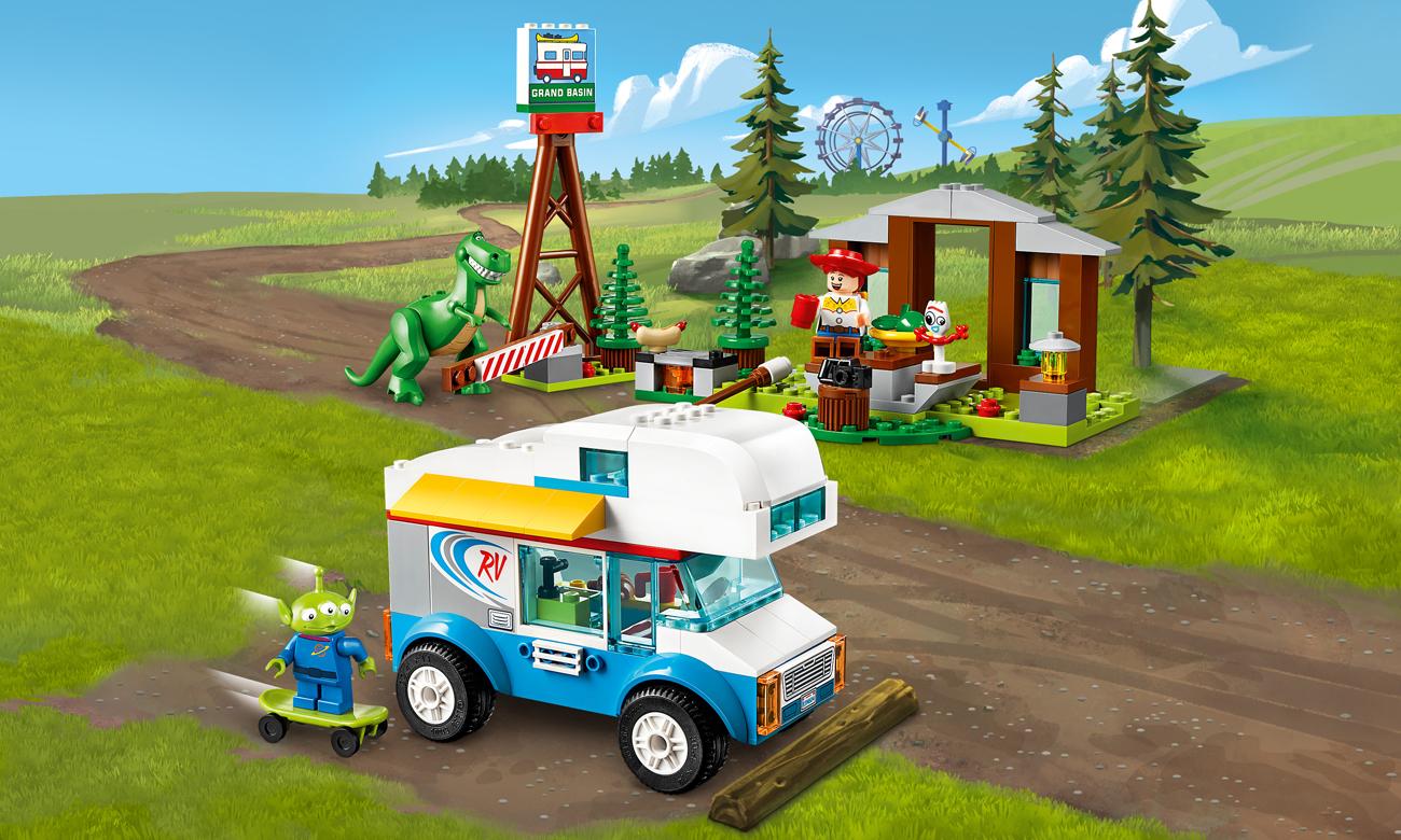LEGO Toy Story 4 Wakacje w kamperze