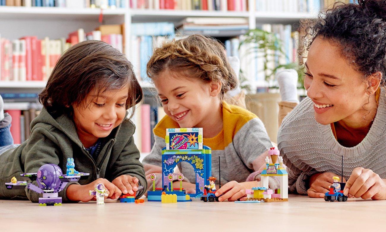 lego toy story zestaw ze strzelnicą