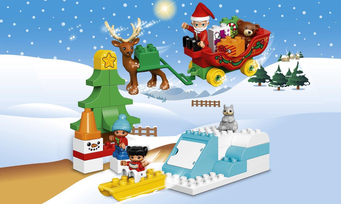 LEGO DUPLO Zimowe ferie Świętego Mikołaja