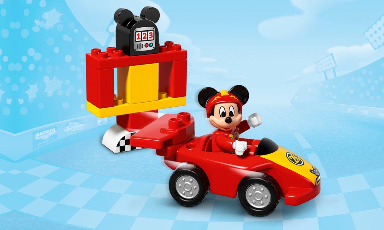 Lego Duplo Wyścigówka Mikiego Klocki Lego Sklep Internetowy Alto