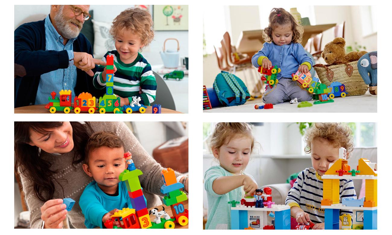 klocki LEGO DUPLO dla najmłodszych