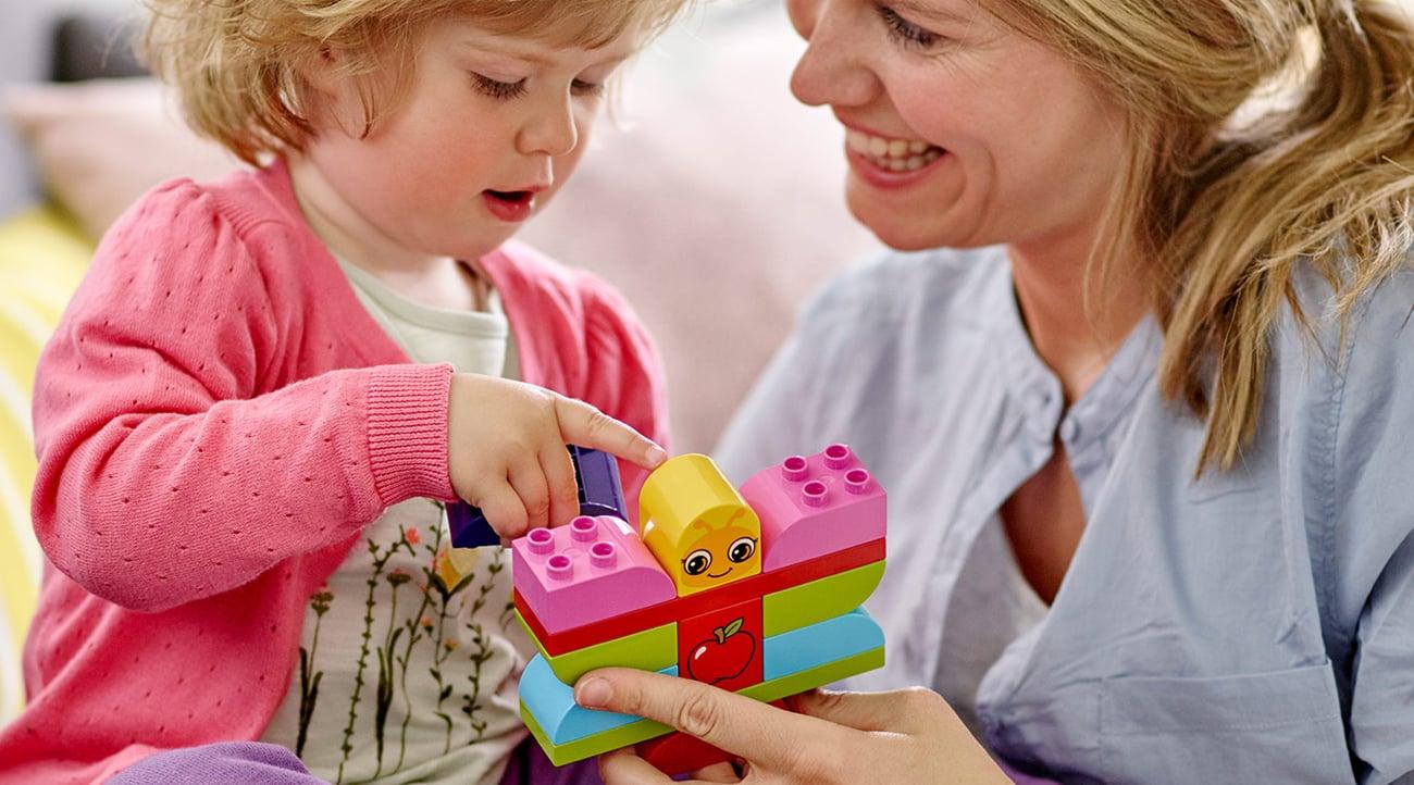 klocki LEGO dla dziecka 1,5 rocznego