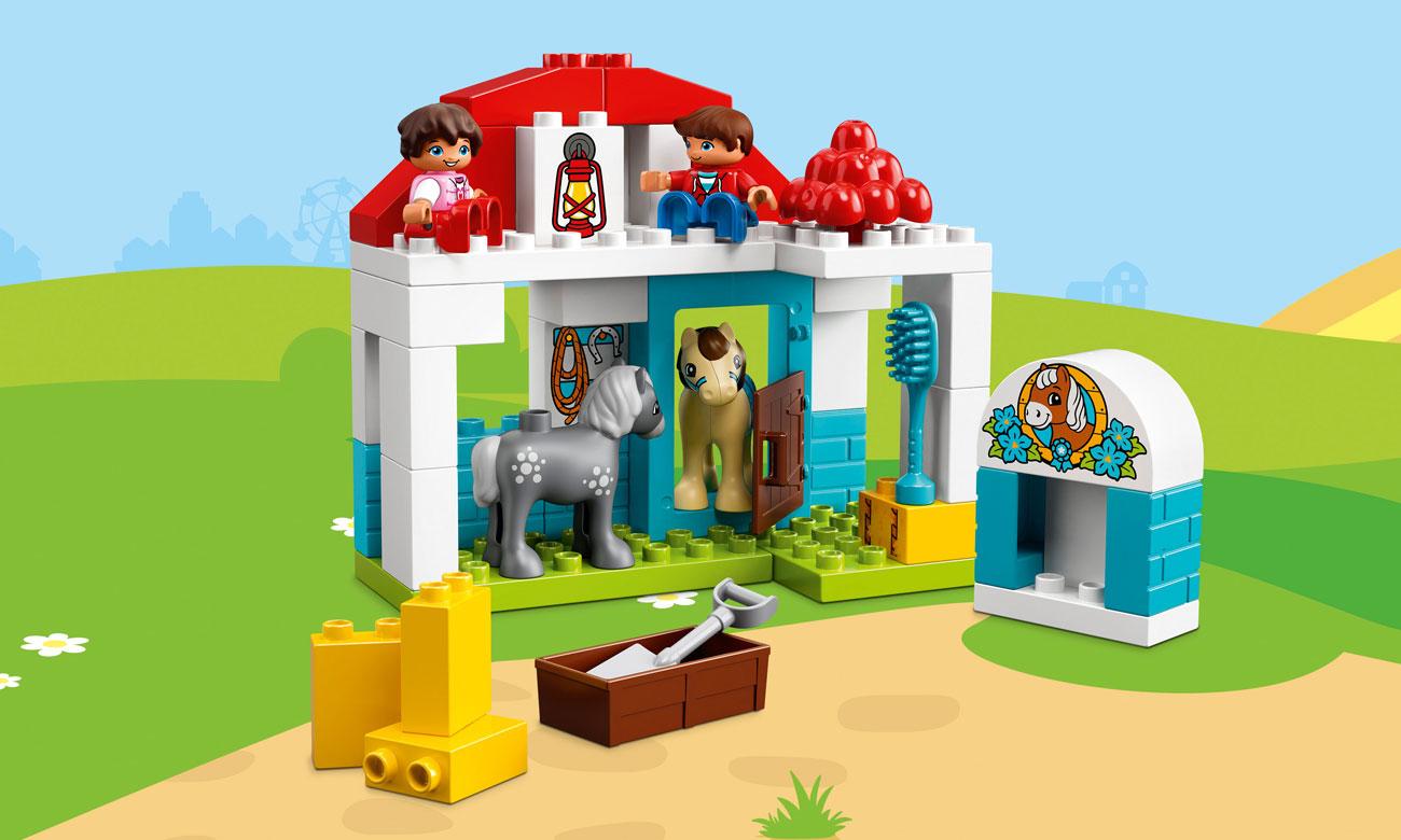 LEGO® DUPLO® stajnia i kucyki 10868