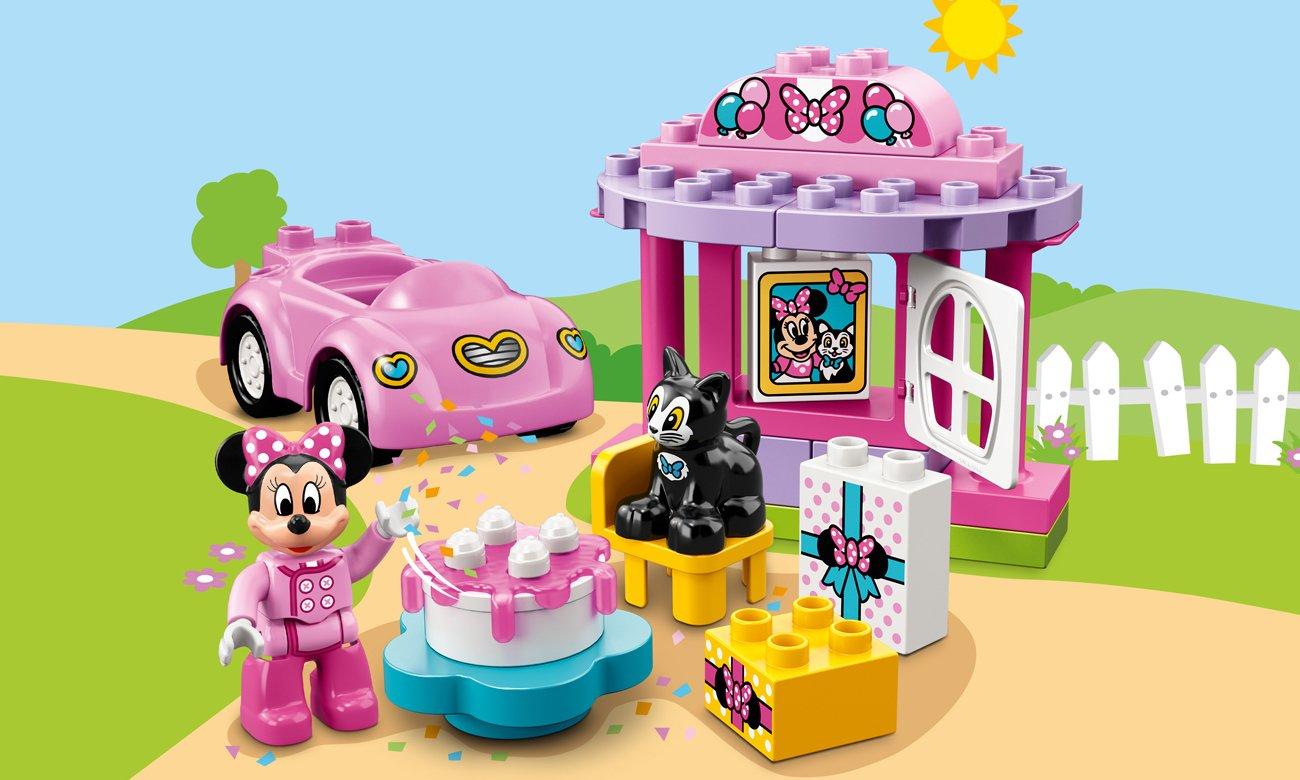 LEGO DUPLO Przyjecie urodzinowe Minnie