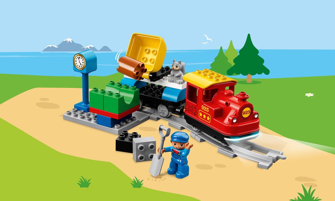 Lego duplo Pociąg parowy