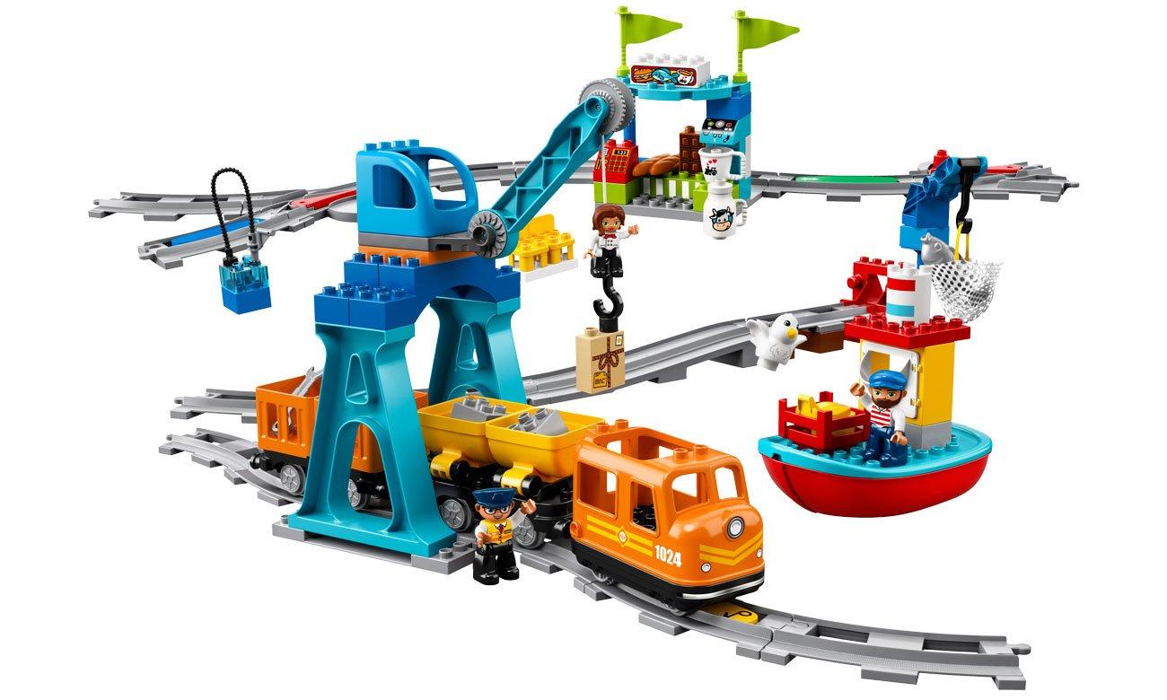 Lego duplo pociąg ze światłami