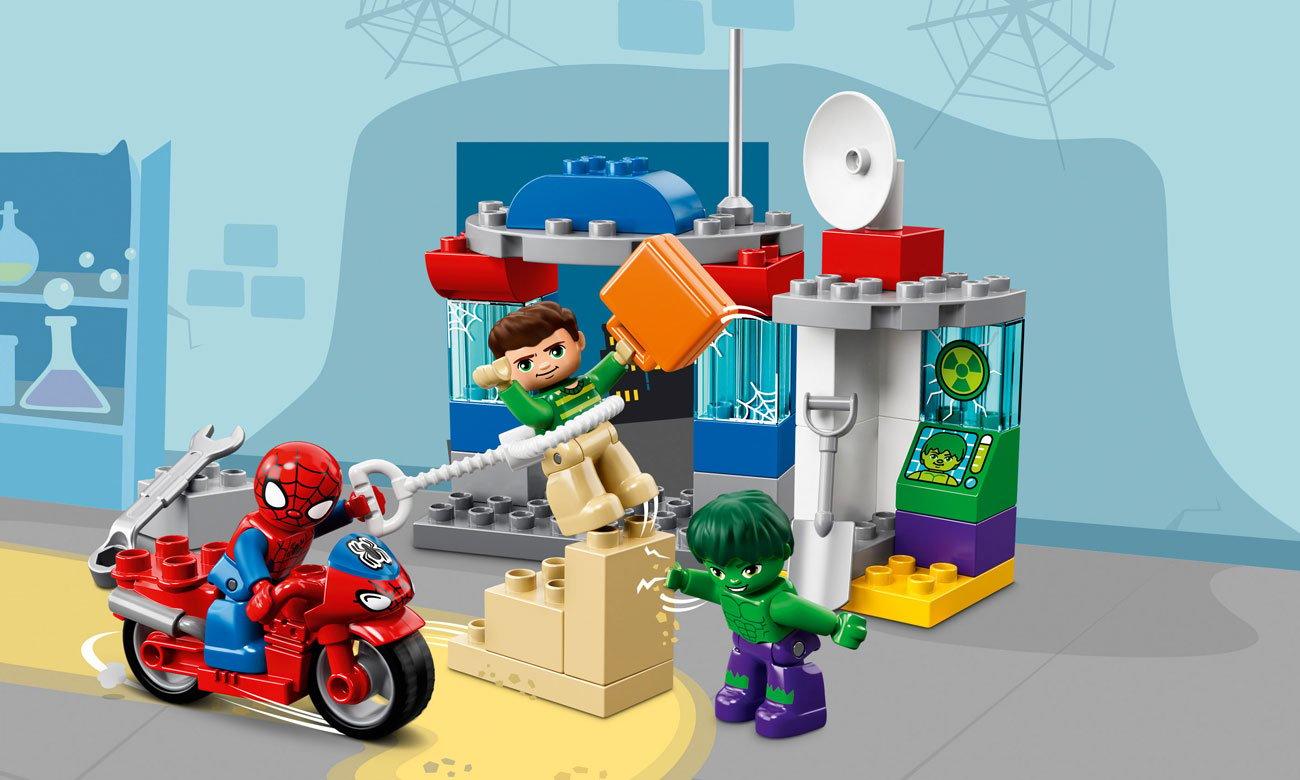 klocki LEGO® DUPLO® Przygody Spider-Mana i Hulka