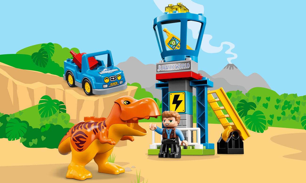 LEGO Duplo Wieża tyranozaura