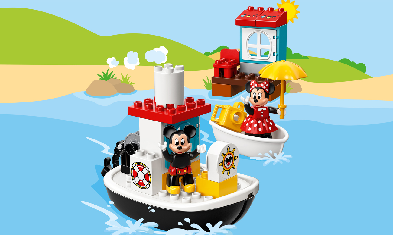 LEGO DUPLO Łódka Mikiego