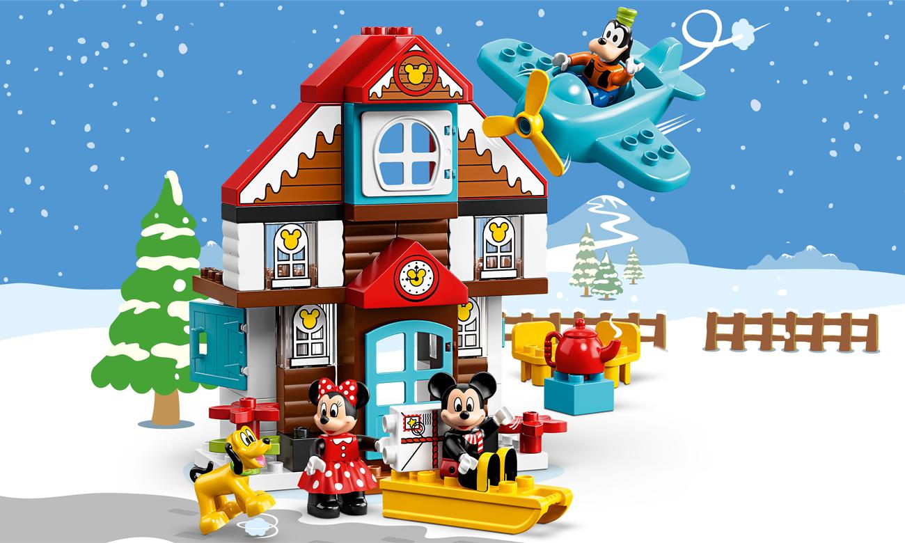 LEGO DUPLO Domek wakacyjny Mikiego