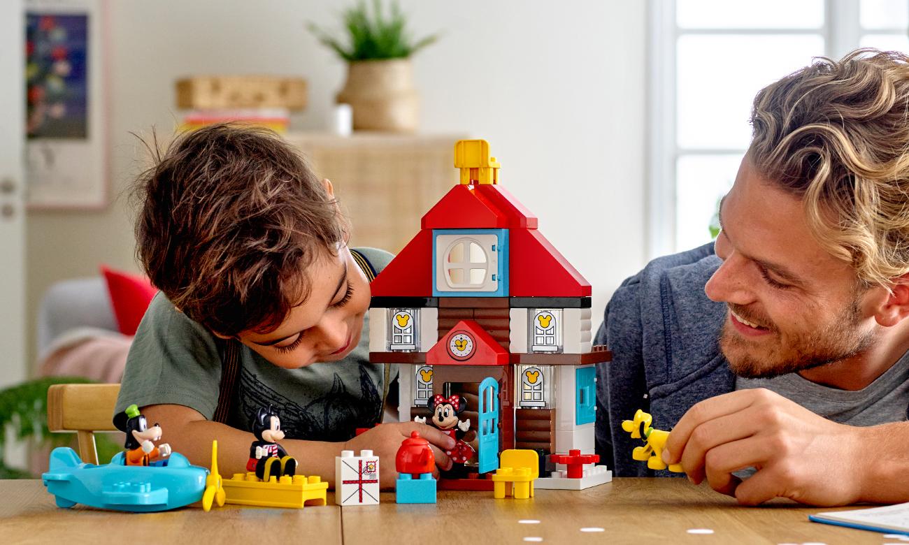 klocki lego duplo domek