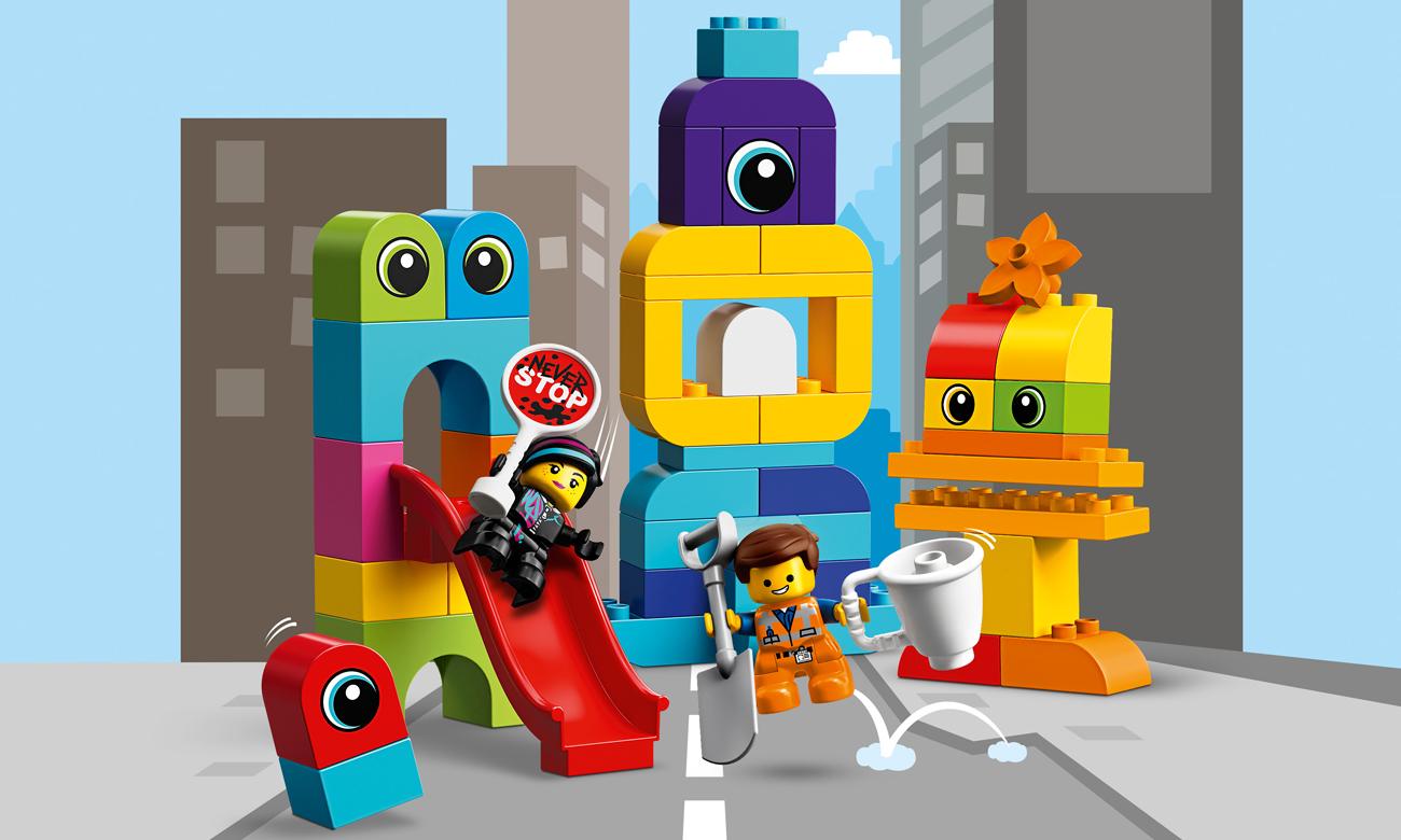 LEGO DUPLO Goście z planety DUPLO u Emmeta i Lucy