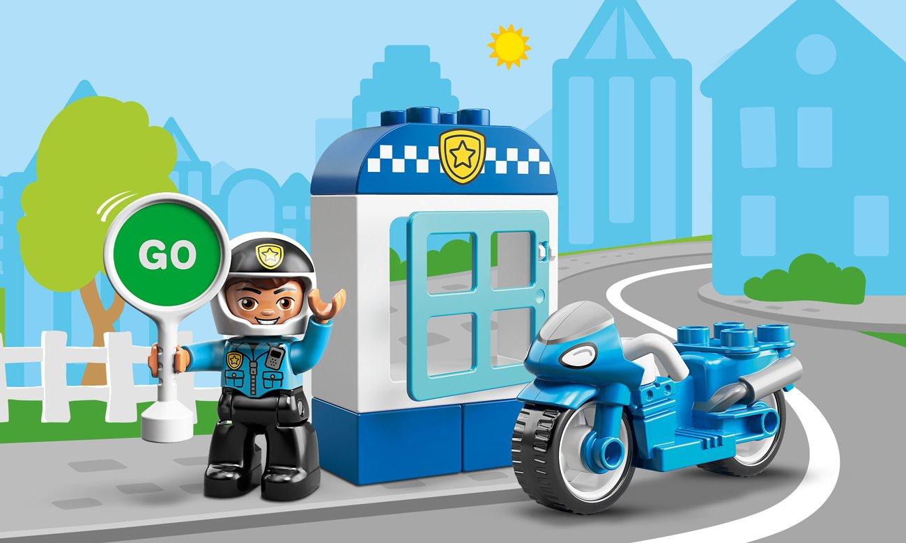 LEGO DUPLO Motocykl policyjny