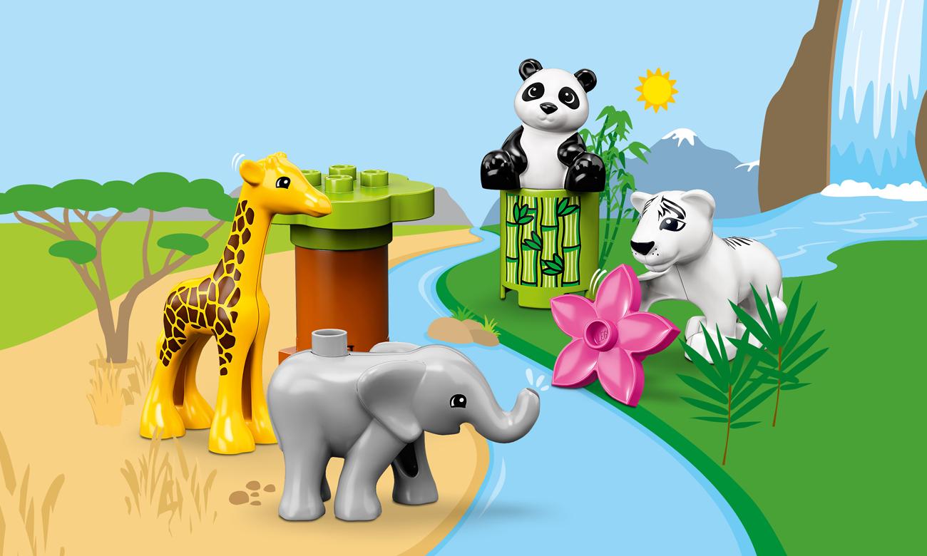 LEGO DUPLO Małe Zwierzątka