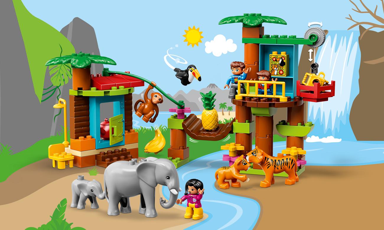 LEGO DUPLO Tropikalna wyspa