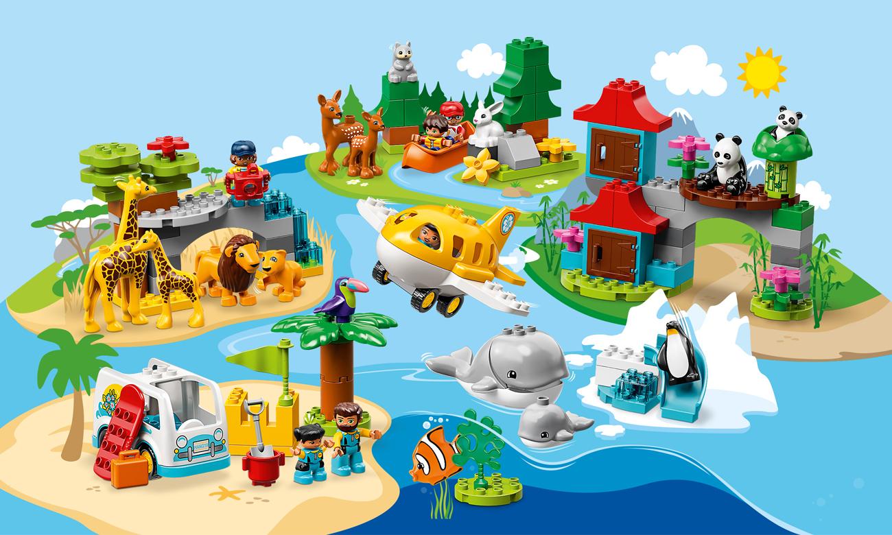 LEGO DUPLO Zwierzęta świata