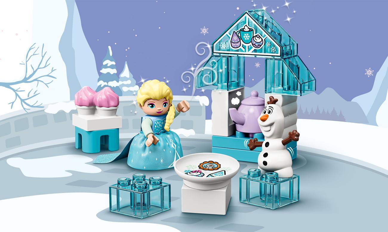 LEGO DUPLO Popołudniowa herbatka u Elsy i Olafa