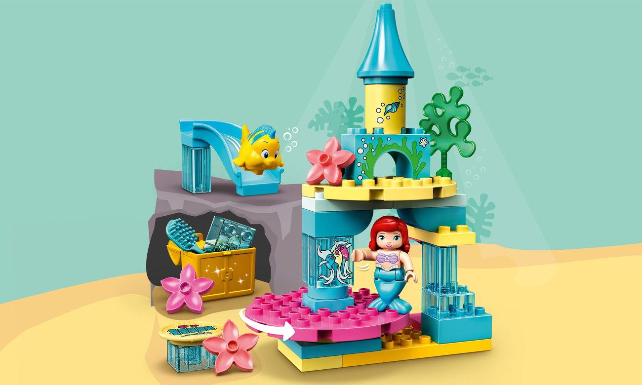 LEGO DUPLO Podwodny zamek Arielki