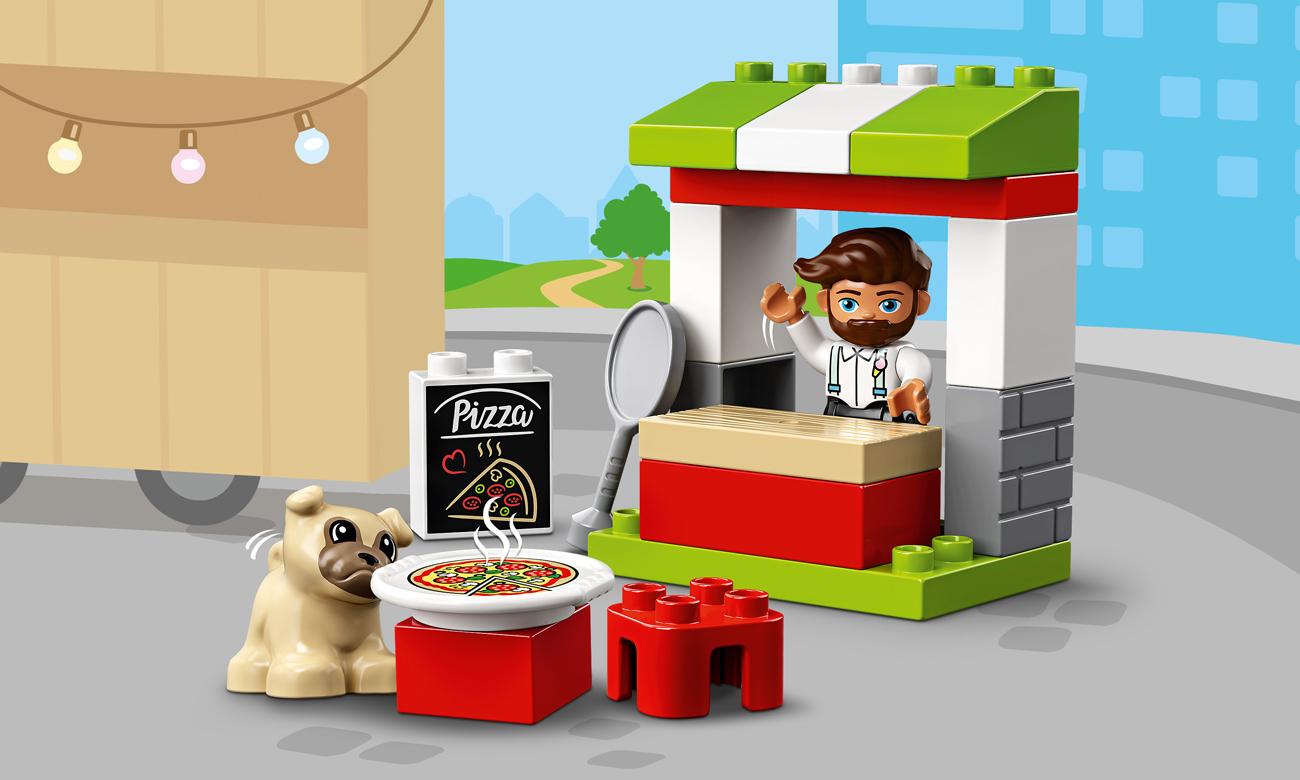 LEGO DUPLO Stoisko z pizzą
