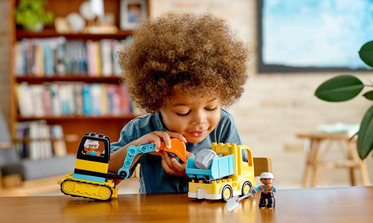 lego pojazdy budowlane