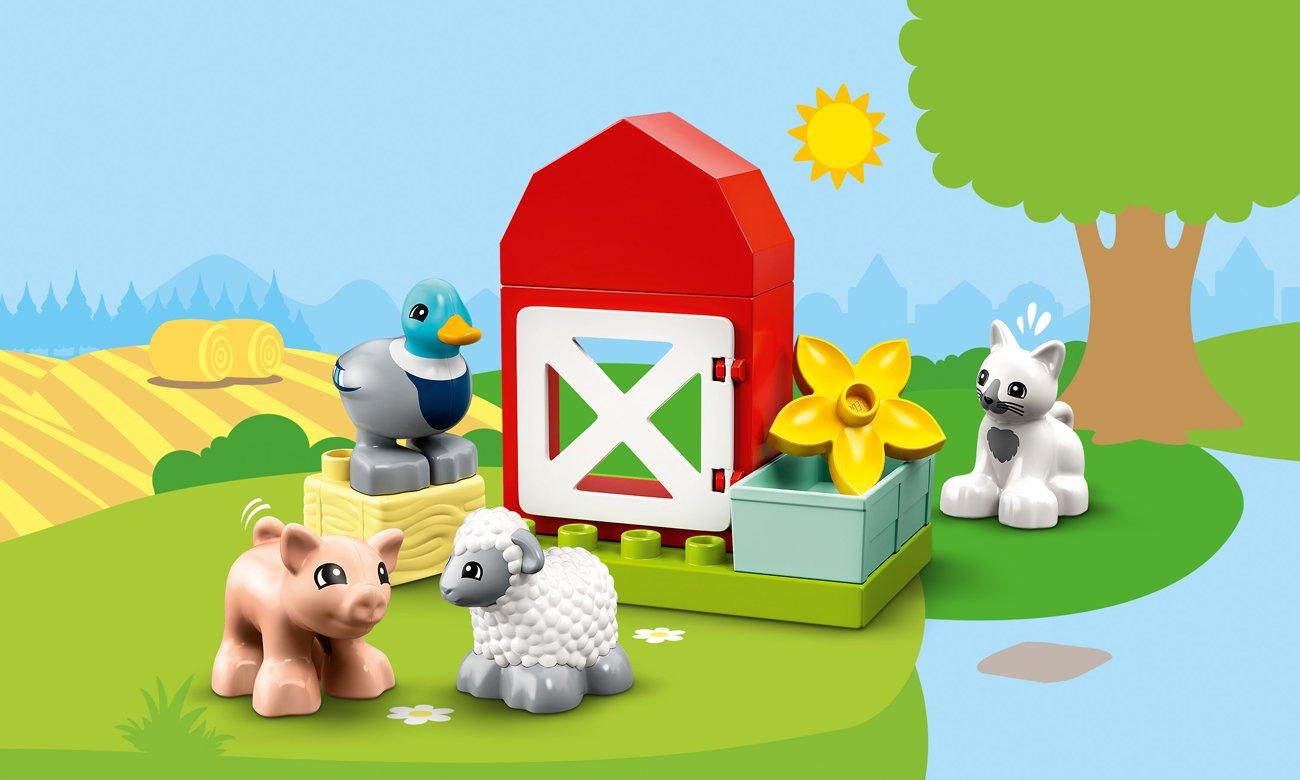 LEGO DUPLO Zwierzęta gospodarskie
