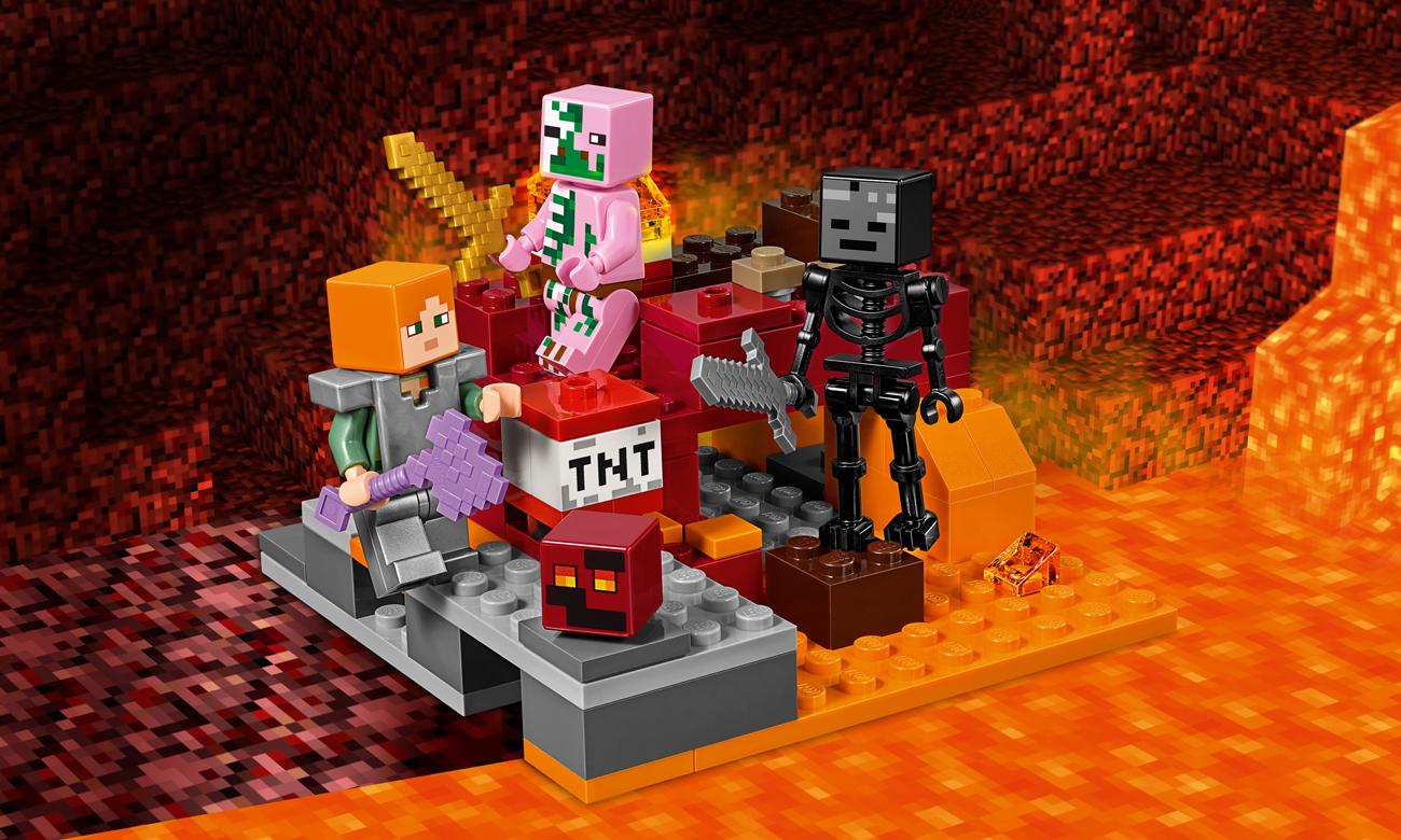 LEGO Minecraft Walka w Netherze